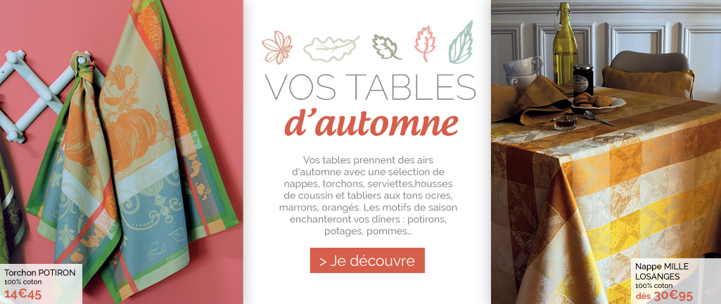 Automne 2014 tables garnier-thiebaut